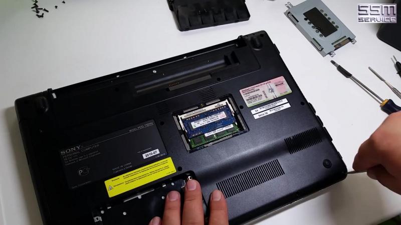 Как разобрать ноутбук Sony VAIO PCG-71211V