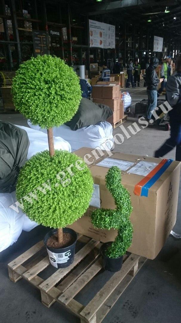 искусственные топиарные деревья