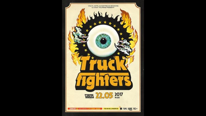 Выступление рок-группы Truckfighters (Швеция) в московском клубе Volta (22.05.2017)