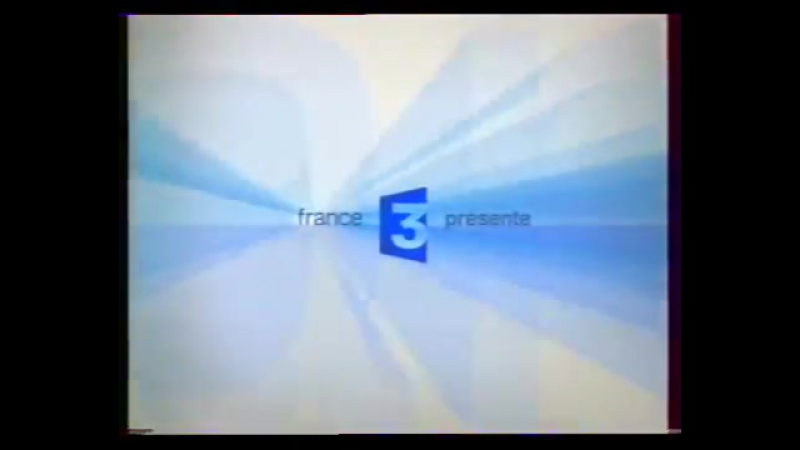 Заставка France 3 présente (France 3 [Франция], 2005-2008) Вторая версия