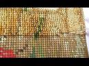 Как вышивать бисером Процесс вышивки для новичков