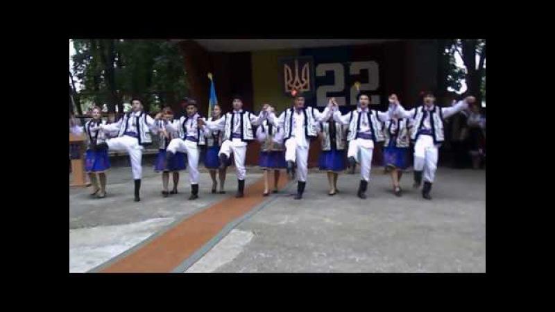 Молдавский народный танец. Как танцуют на Буковине молдавский народный танец