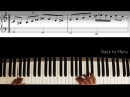 Blues Improvisation Etude │ Blues Piano Lesson 8