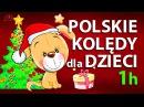 █▬█ █ ▀█▀ POLSKIE KOLĘDY DLA DZIECI - 1 godzina HD 1080p Słuchaj podczas wigilii HD