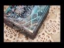 Пошаговый процесс декорирования шкатулки