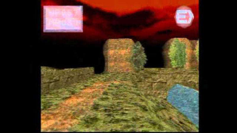 King's Field II (PS1) Gameplay