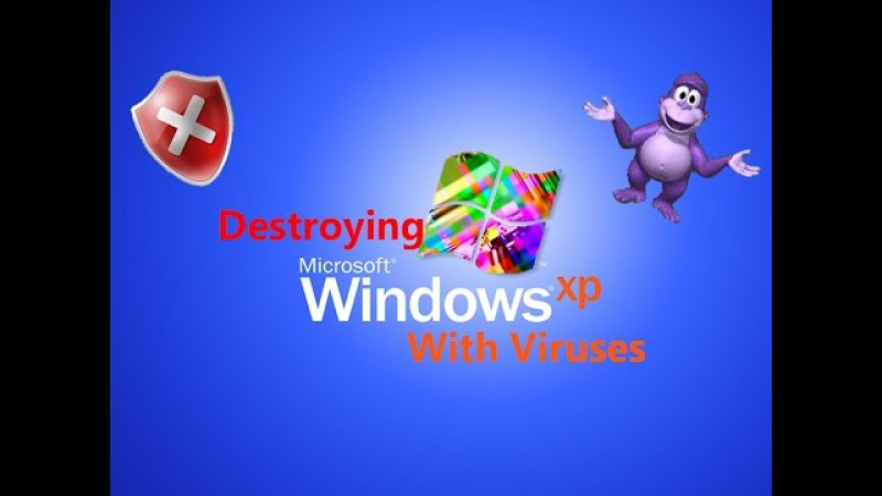 Destroying Windows XP With Viruses