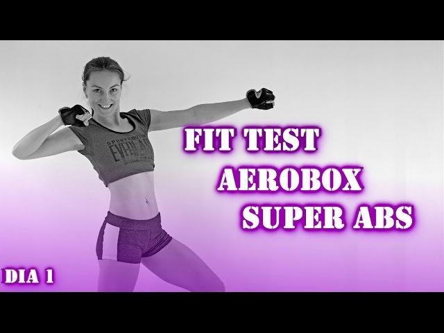 Aerobox Super Abdomen Fitness Test | Día 1 mega5semanas