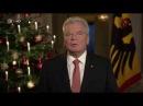 Die Weihnachtsansprache des Bundespräsidenten Joachim Gauck 2016