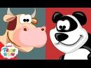 Животные для детей 2 часть Развивающие мультики про киндер сюрпризы для самых м...