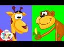 Животные для детей.3 часть Развивающие мультики про киндер сюрпризы для малыше ...