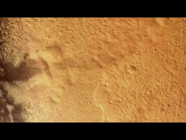 Съемка приземление на Марс