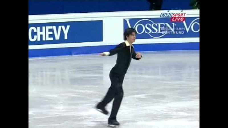 Stephane Lambiel 2004 Worlds SP - I'm a doun for lack o' Johnnie
