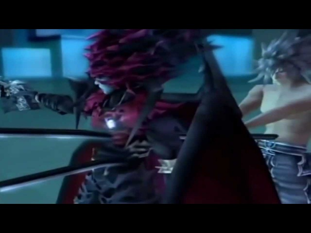 Final Fantasy 7 Dirge of Cerberus- Chaos Vincent vs weiss