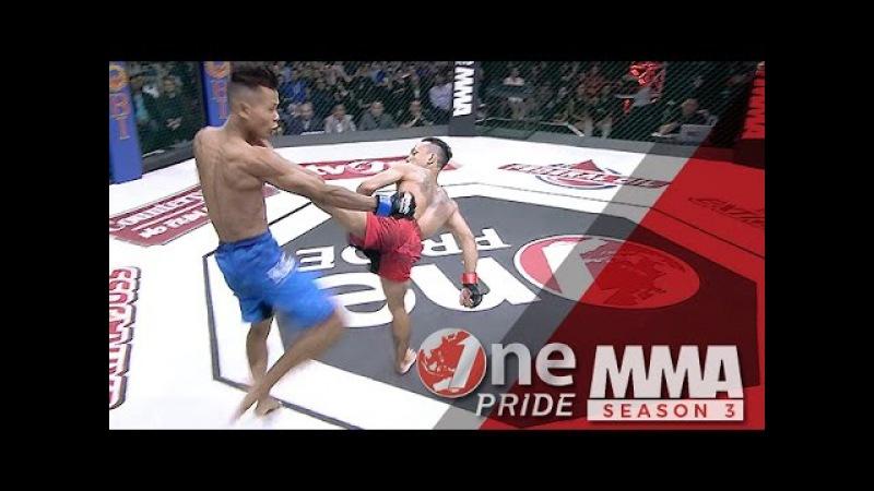 [HD] One Pride MMA 3: Brando Mamana VS Adi Paryanto - Strawweight Championship Fight