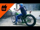 Jimmy's 1954 Triumph Thunderbird Bobber | Fuel Tank Feature 02
