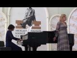 Elena Chesnokova, Елена Чеснокова, Darya Smirnova piano, Дарья Смирнова концертмейстер