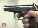 Оспищев С.В. Демонстрация стрельбы из пистолета ПМ.