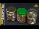 Домашние консервы из мелкой рыбы salapinru