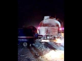 Авария на трассе между Мегионом и Лангепасом