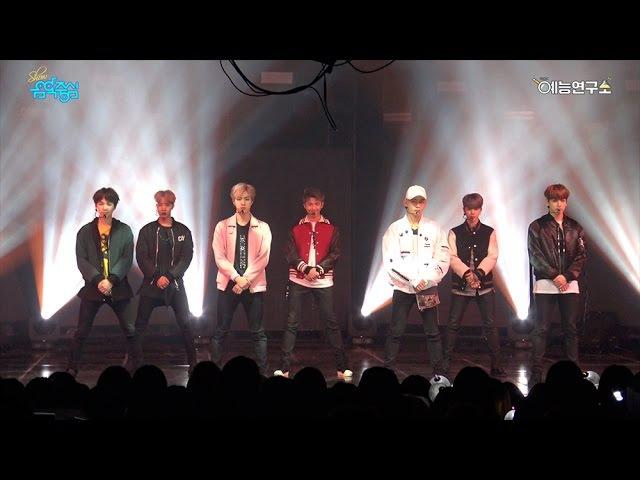 [예능연구소] 방탄소년단 21세기 소녀 @쇼!음악중심_20161015 21st Century Girls BTS in 4K