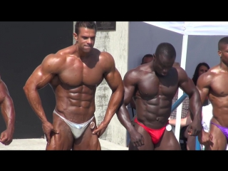 Mens Overall Winner at Muscle Beach 7-4-13