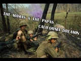 The Mamas &amp The Papas - California Dreamin' (Vietnam war)