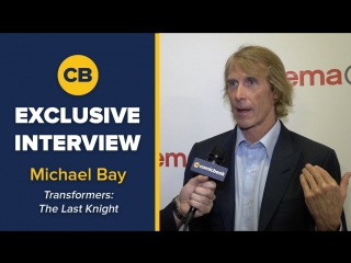 EXCLUSIVE Interview  Michael Bay - CinemaCon