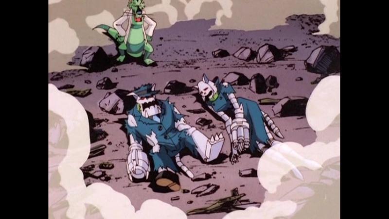 Коты быстрого реагирования. Серия 13: Катастрофа (1993)