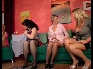 Мамы трахают молодых любовников, mature old woman milf orgy group sex porn busty slut tits ass (Инцест со зрелыми мамочками 18+)