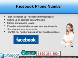 Dial Facebook Phone Number to gain followers for your page@1-850-361-8504