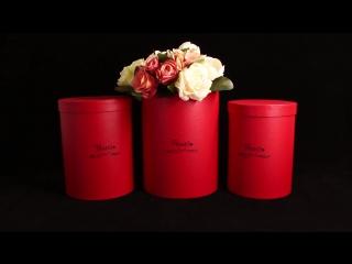 Коробки под цветы от оптового интернет-магазина La Prida