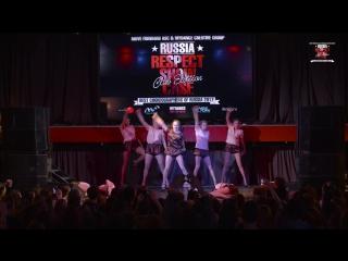 Юрасова Настя | RESPECT SHOWCASE 2017 Club Edition [OFFICIAL 4K]
