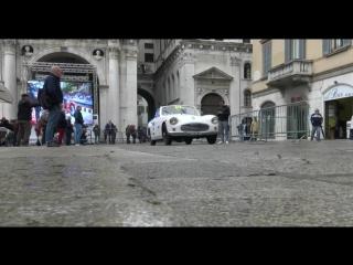 The start of the 2016 Mille Miglia in Brescia