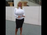Allegra Cole - Amazing blonde babe with heavy jugs & round juicy butt