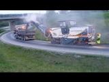 Фреза Wirtgen W210i: Фрезерование покрытия трассы Е6 в Норвегии