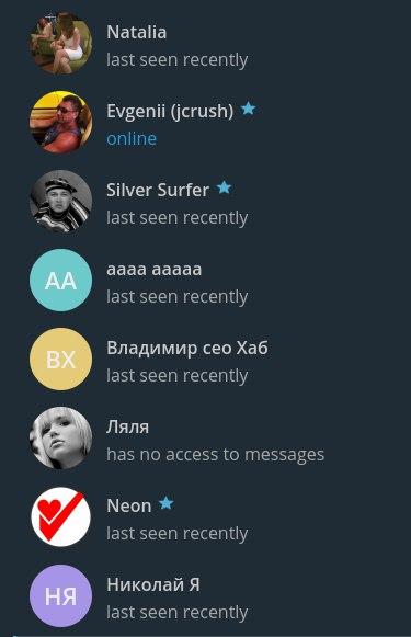 Чат Дальнего Востока в Telegram
