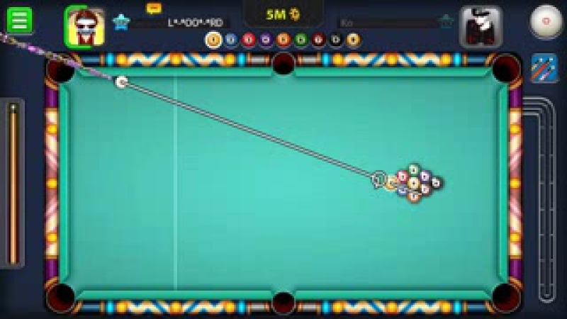 What is the best break in 9 ball pool with beginner cue_ ( الفوز ب أضعف عصا بال_low