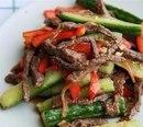 Огурчики с мясом по-китайски