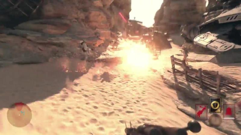 Star Wars Battlefront- Battle of Jakku Gameplay Trailer