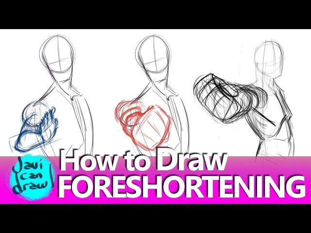 IS THIS HOW YOU DRAW FORESHORTENING?