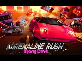 Мультики про Машинки Гонки Игры для Детей Adrenaline Rush Miami Drive