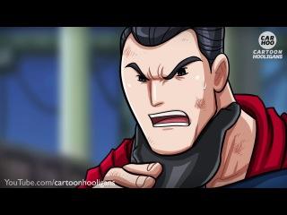Бэтмен против супермена/batman vs superman – Эпические бои супергероев