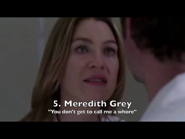 Grey's Anatomy- Top Speeches