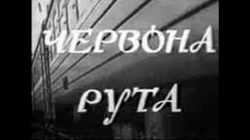 Червона рута Р Олексив 1971 г Фильм концерт
