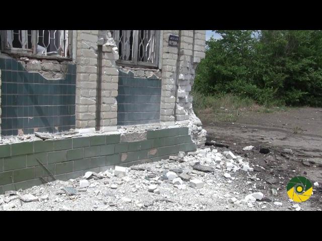 13 ЧЕРВНЯ 2017 р. Ольгинка. Пошкоджено будівлю операторної АЗС