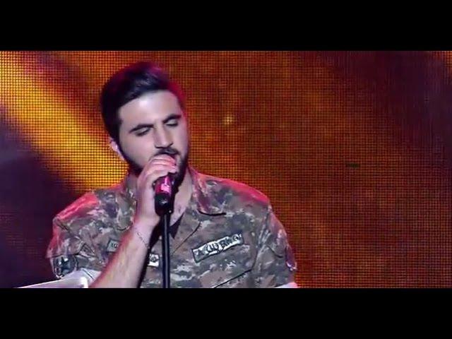 Edgar Ghandilyan - Axpers u es /X-Factor4 Armenia / (gala 7) 02.04.2017