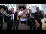 Rich Chigga Postmates a mariachi band playing