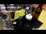 Irish coffee and new stickers for Valentine's Day Julia fine art