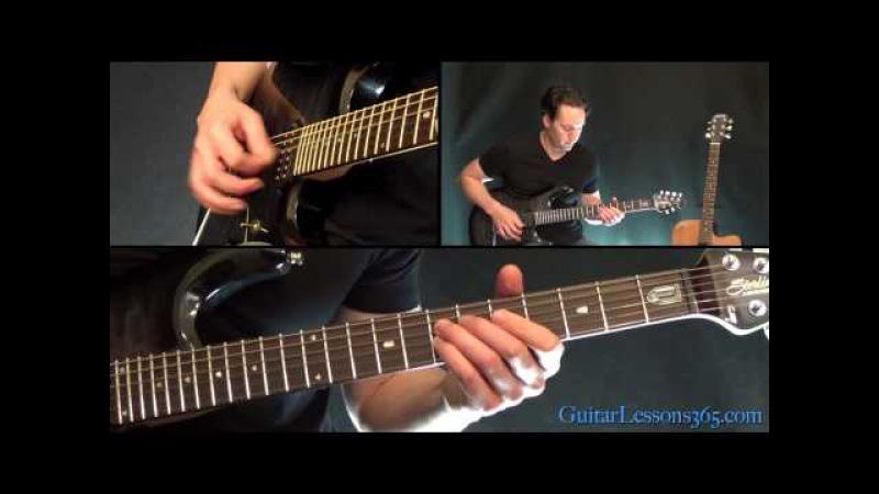 Hells Bells Guitar Lesson Pt.1 - AC/DC - All Riffs